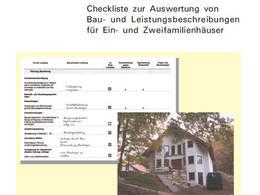 checkliste baubeschreibung aktion pro eigenheim. Black Bedroom Furniture Sets. Home Design Ideas