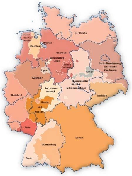 Landeskirchen Deutschland