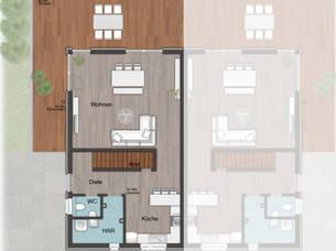 Haus grundriss u form for Hausplanung grundriss