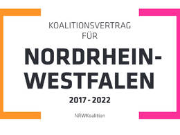 Koalitionsvertrag NRW
