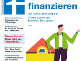 Cover Finanztest April 2018