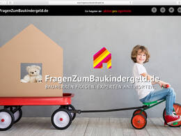 Screenshot FragenZumBaukindergeld