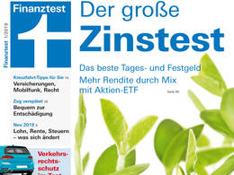 Cover Finanztest 1/2019
